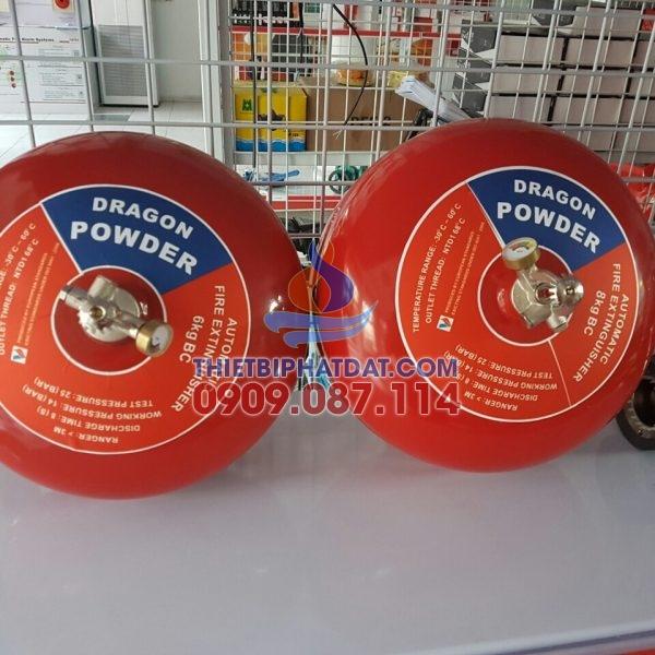 Bình cầu chữa cháy tự động DRAGON 6kg