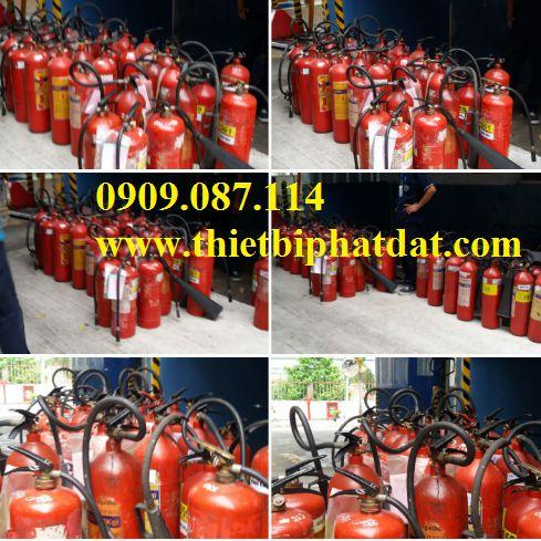 Nạp bình chữa cháy khu công nghiệp Long An