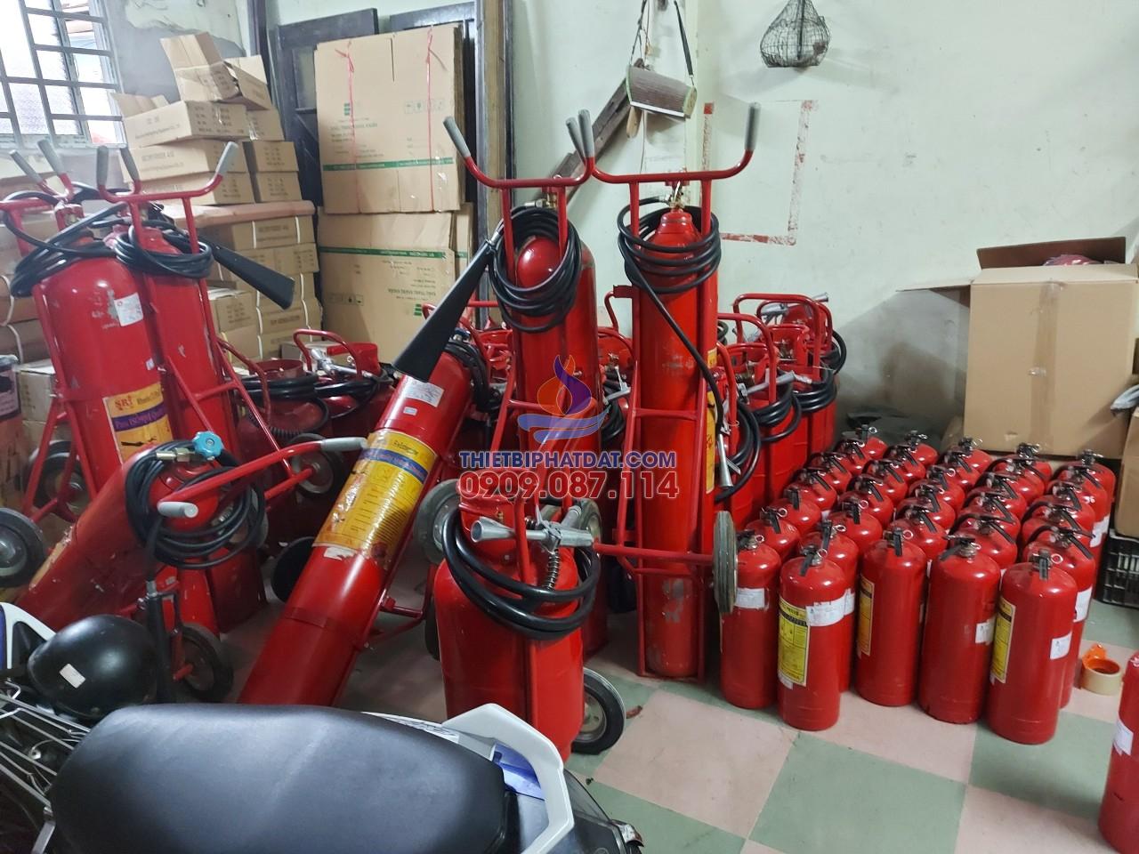 Nạp bình chữa cháy tại quận 8 giá cực cạnh tranh  0909.087,114