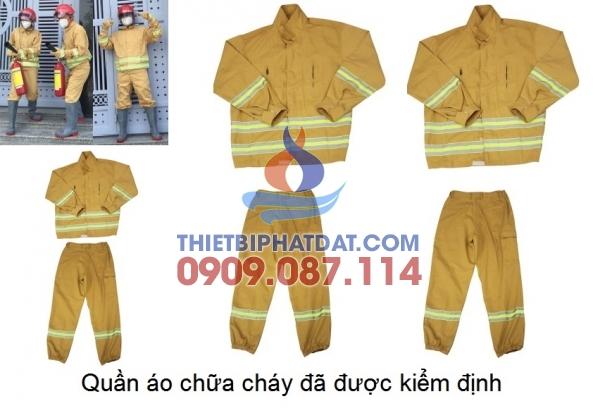 Quần áo chữa cháy Thông tư 48/2015/TT-BCA