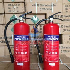 Bình chữa cháy Việt Nam hiệu DRAGON bột ABC 4kg