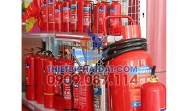 Bình chữa cháy Việt Nam bột 1kg, bột ABC 2kg, Bột ABC 4kg, bình bột 8kg, bình xe đẩy 35kg hiệu Dragon