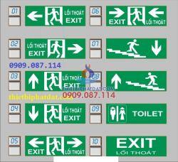 Đèn exit, lối thoát kentom KT610