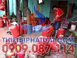 Nạp bình chữa cháy quận Bình Chánh giá rẻ tại HCM