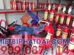 Nạp bình chữa cháy tại quận Bình Thạnh