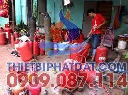 Nạp bình chữa cháy tại quận Bình Thạnh, hcm