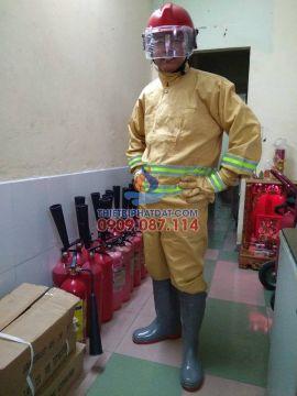Quần áo chữa cháy cục pccc yêu cầu