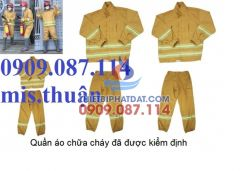 Quần áo chữa cháy theo quy định của thông tư 48