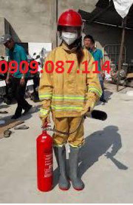 Quân áo chữa cháy theo thông tư 48- tem mẫu B- chuẩn thông tư 150 bộ công an