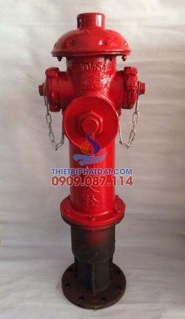 Trụ chữa cháy D100 có 3 cửa ra D65x65x100mm