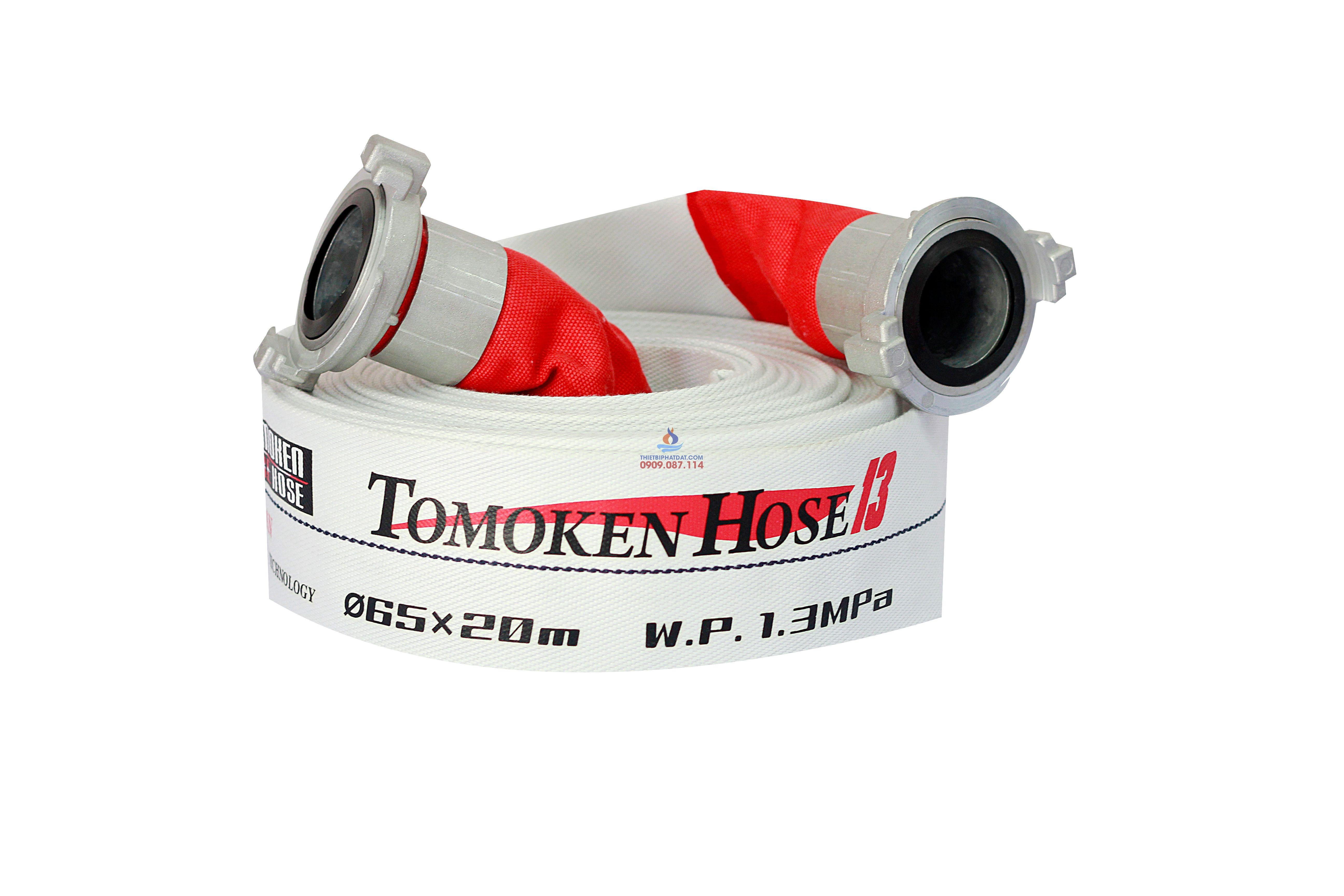 Vòi Chữa Cháy Tomoken Pro DN65-20M-16Bar